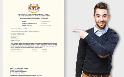 Bagaimana Untuk Membuat Pendaftaran MOF?